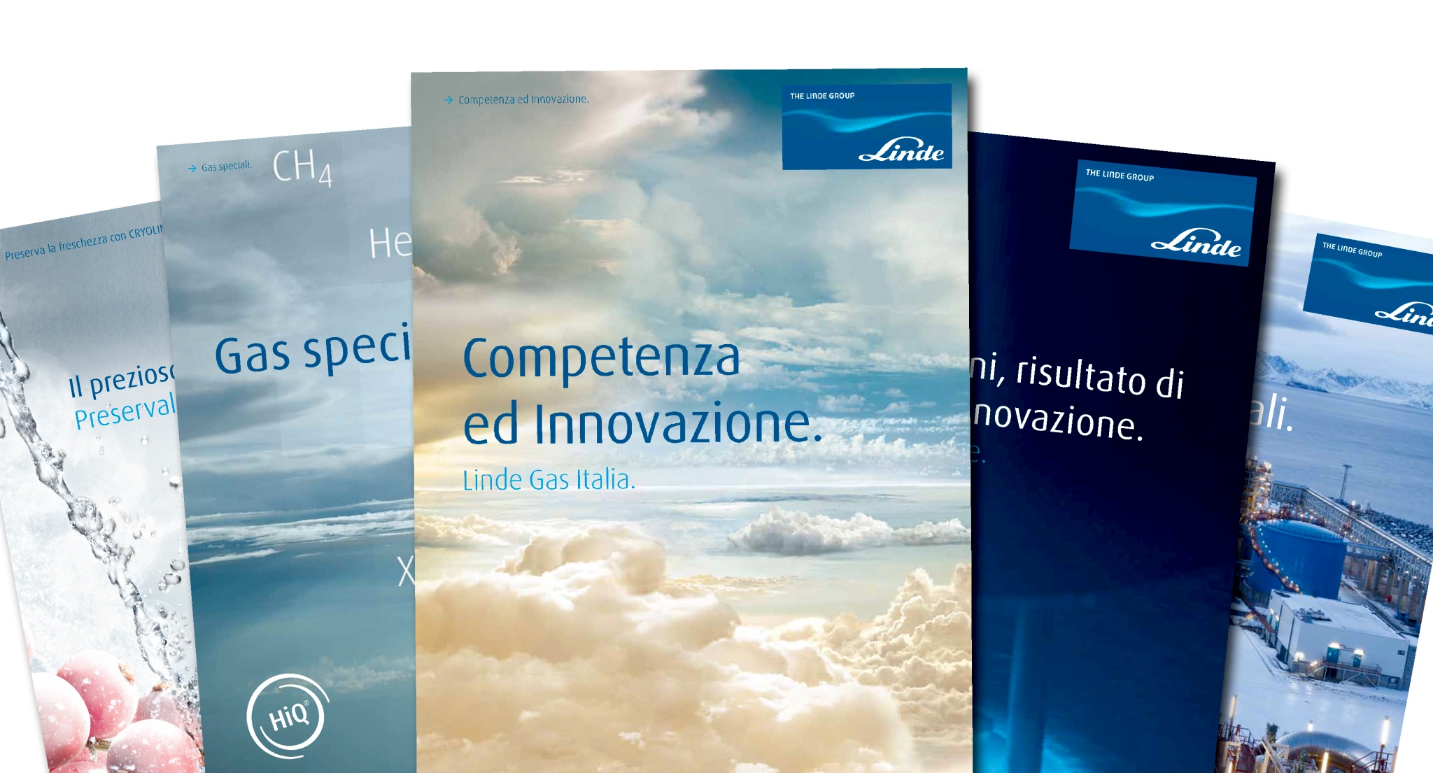 Overview of catalogues from Linde Italy